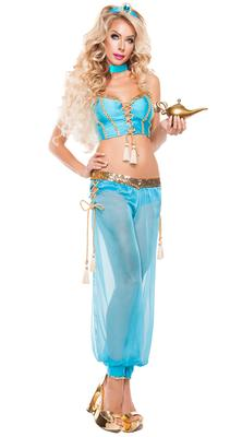 STARLINE Sexy Blue Genie Costume