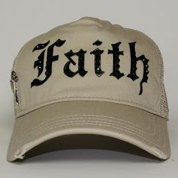 Faith Connexion Trucker Diamonds Cap BE/BK