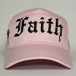 Faith Connexion Trucker Diamonds Cap RO/BK
