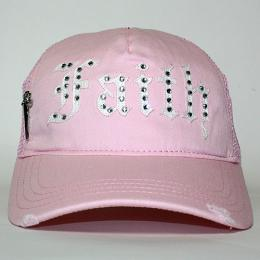 Faith Connexion Trucker Diamonds Cap B.PI/WH