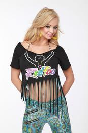 Party Rock Clothing Womens Fringe Top Redfoo