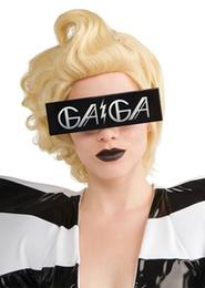 RUBIE'S LADY GAGA PRINTED GLASSES BK