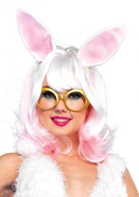 Leg Avenue Bunny two-tone wig with latex ears