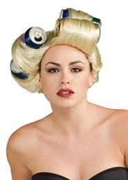 RUBIE'S LADY GAGA SODA CAN WIG BL
