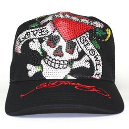 Ed Hardy PLATINUM CAP LOVE KILLS SLOWLY BK