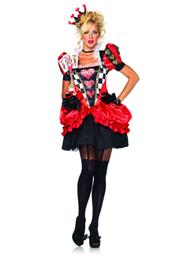 Leg Avenue 2pc. Evil Red Queen Costume