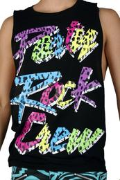 Party Rock Clothing Cheetah Party Rock Crew Pool Boy Tank