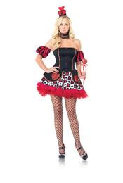 Leg Avenue 4pc. Wonderland Queen Costume