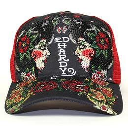 Ed Hardy PLATINUM CAP ED'S ROSE C.GRY/RE
