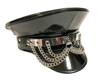 FUNK PLUS METALPLATE HANGING CHAIN CAPTAIN HAT